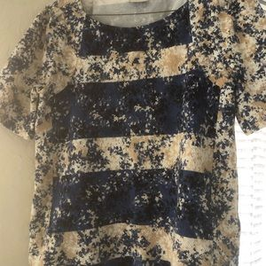Small Anthropologie top.